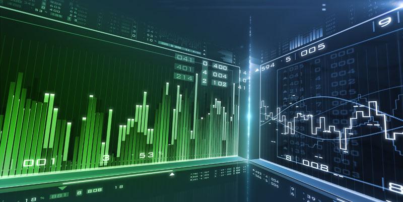 Grafico mercati e finanza