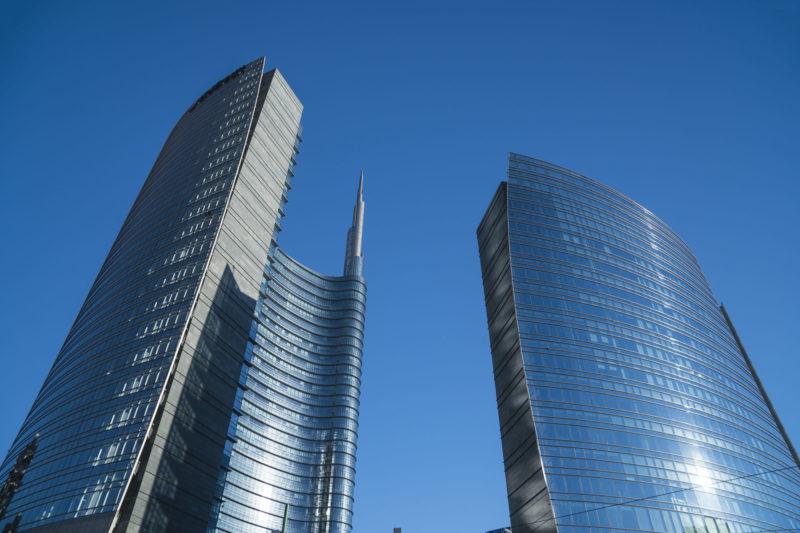 Piazza affari di Milano