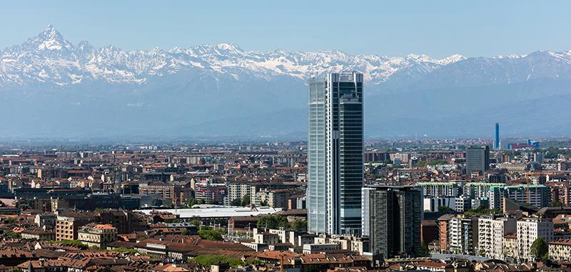 Banca Intesa palazzo a Torino