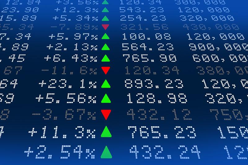Grafico per un investimento sicuro e redditizio tra fondi e azioni: scopri i fondi comuni