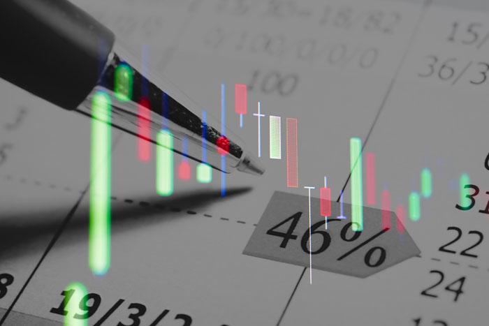 Grafico oro finanziario
