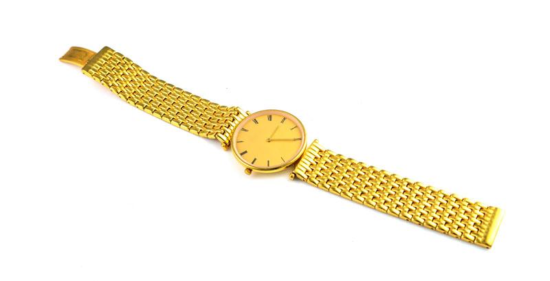 Orologio d'oro puro