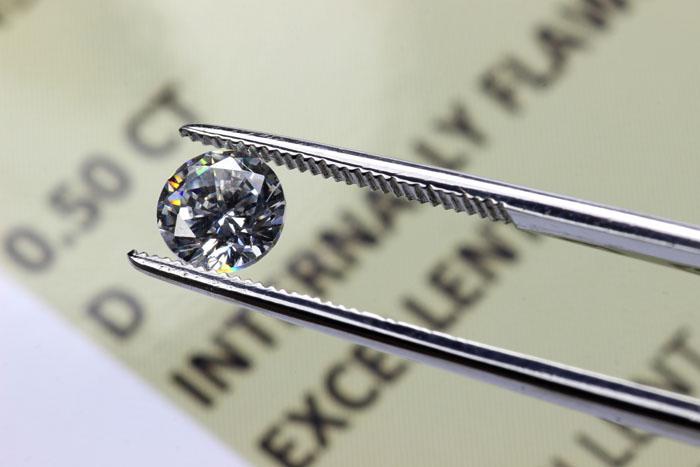 Un diamante da investimento con valore certificato.