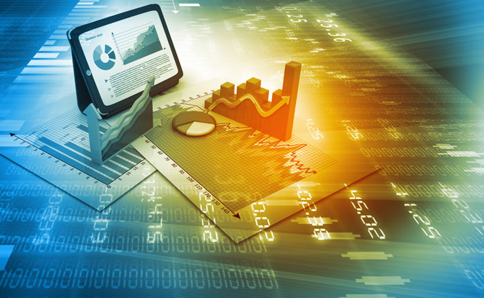 grafici sui mercati finanziari sicuri
