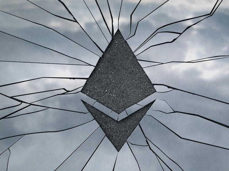 ethereum e cryptovalute scendono in borsa oggi