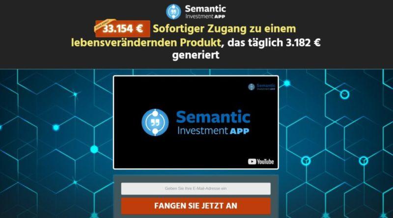 Semantic Investment App Truffa o Funziona? Opinioni ... - E-conomy