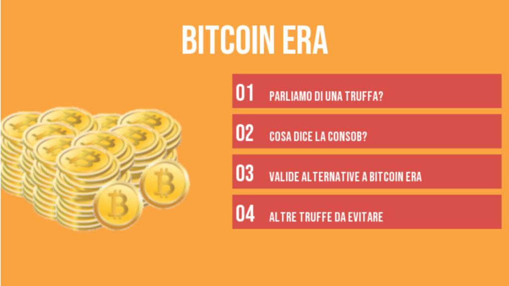 Bitcoin Era | Funziona o è una truffa? | Analisi completa