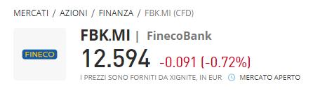 comprare azioni finecobank con etoro