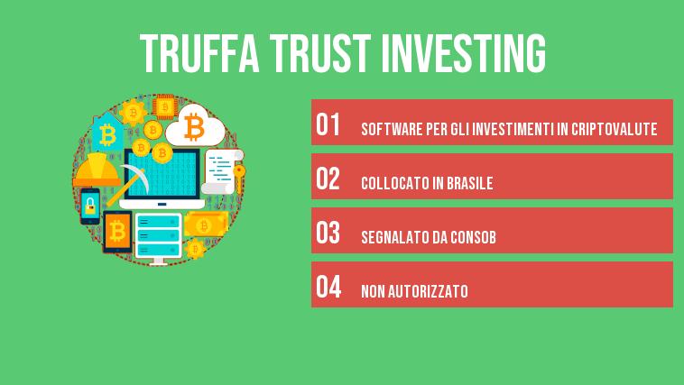 truffa trust investing infografica