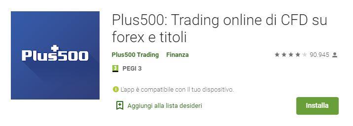 migliori app trading plus500