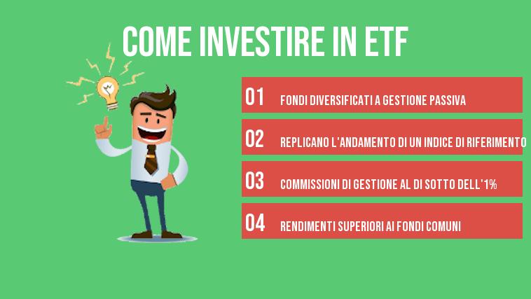 come investire in etf info